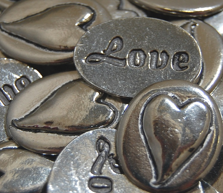 Heart - Love Inspiration Coin