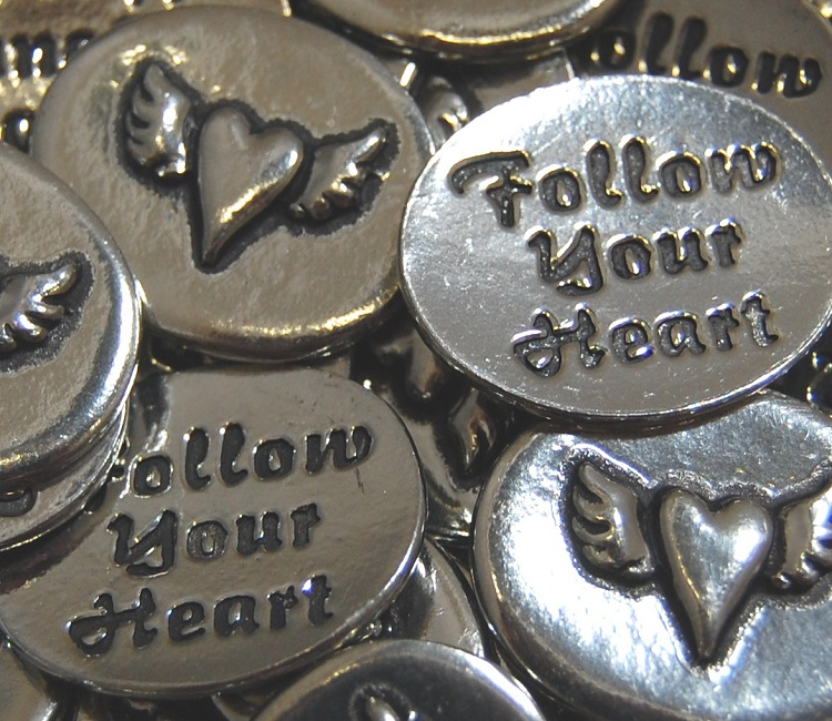 Heartwing - Follow Your Heart Inspiration Coin