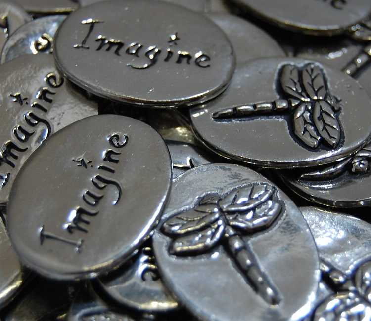 Dragonfly - Imagine Inspiration Coin