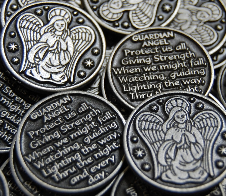 Guardian Angel Pocket Token with Poem