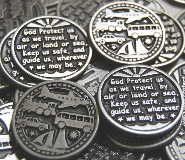 Traveler's Prayer Pocket Token