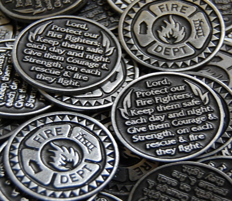 Firefighter Pocket Token