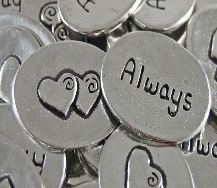 Two Hearts - Always Inspiration Coin