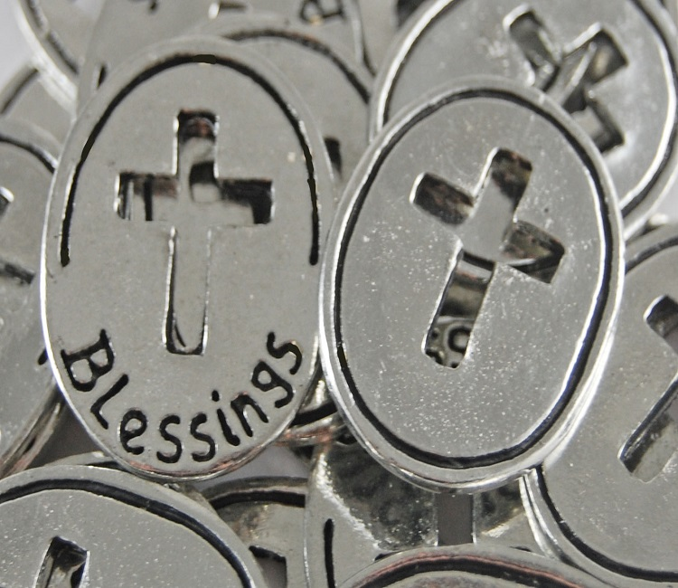 Open Cross - Blessings Inspiration Coin