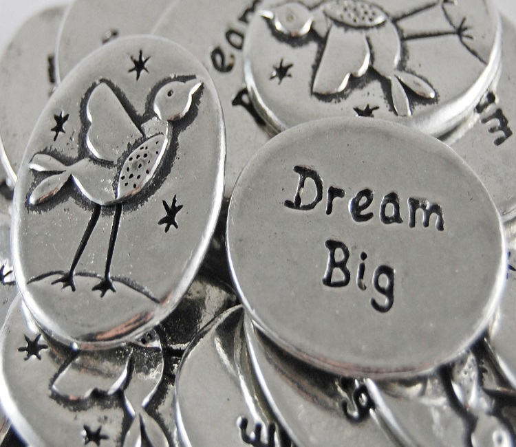 Song Bird - Dream Big Inspiration Coin