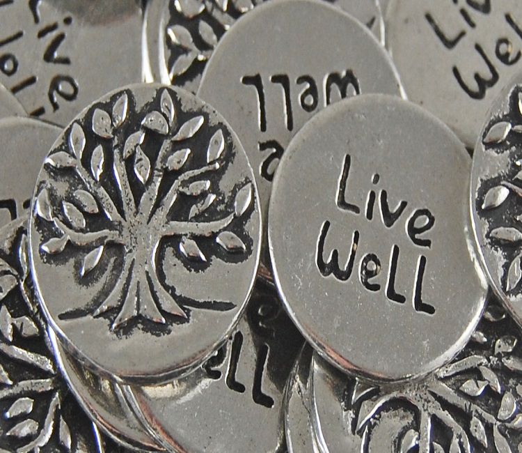 Tree - Live Well Inspiration Coin