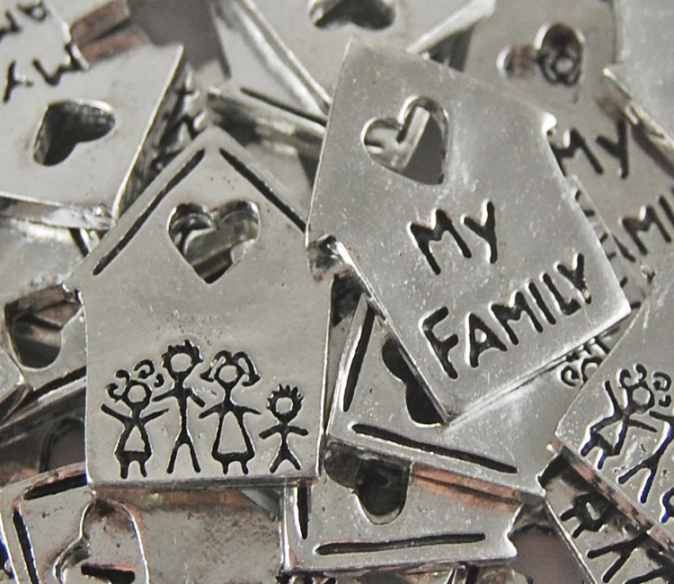 House Shaped - Family Inspiration Coin
