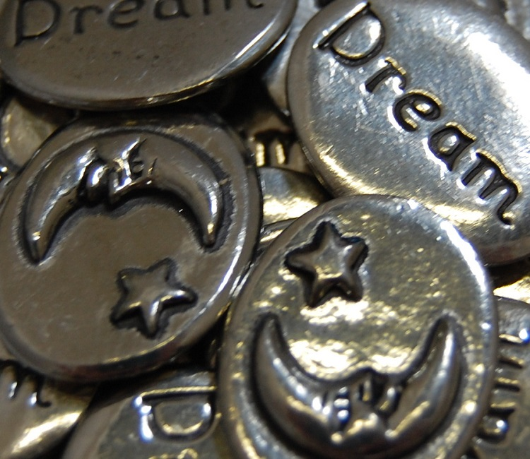 Moon - Dream Inspiration Coin