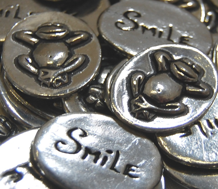 Frog - Smile Inspiration Coin