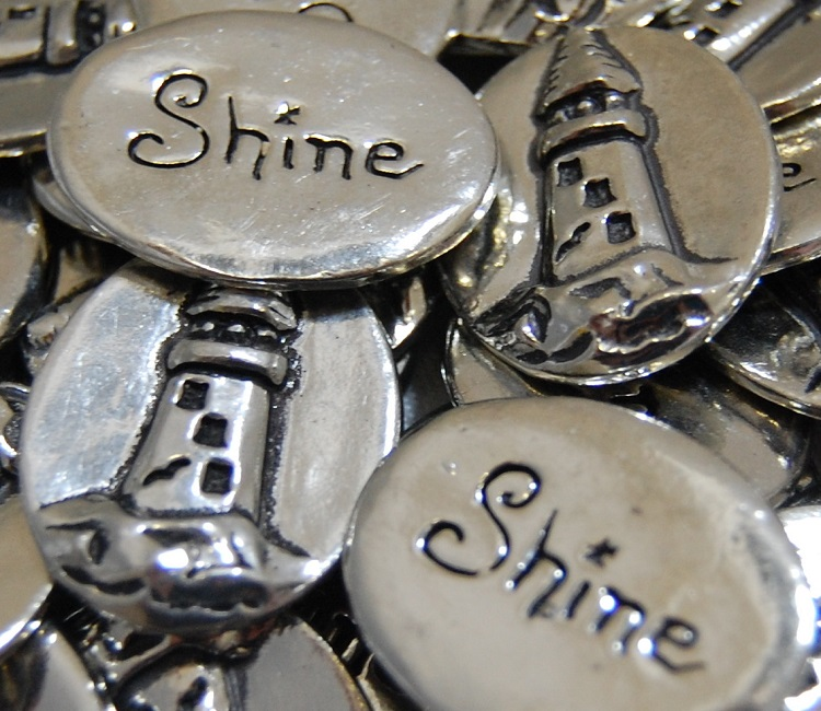 Lighthouse - Shine Inspiration Coin
