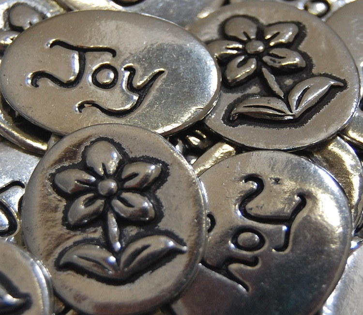 Flower - Joy Inspiration Coin