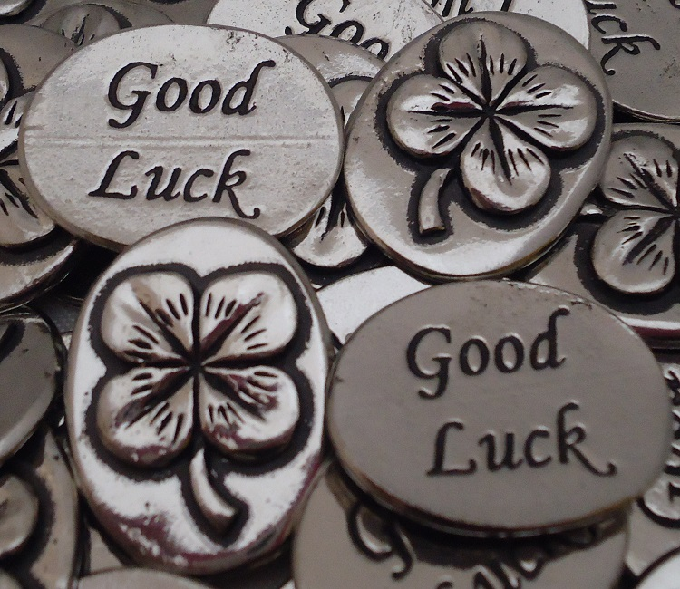 Clover - Good Luck Inspiration Coin