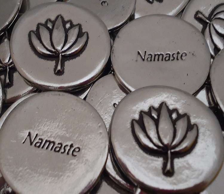 Lotus - Namaste Inspiration Coin