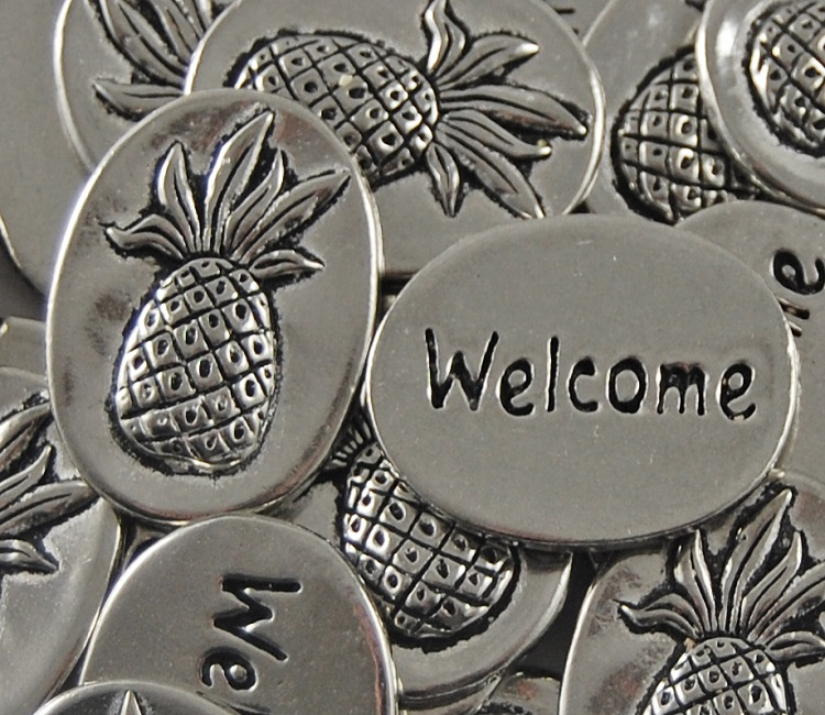 Pineapple - Welcome Inspiration Coin