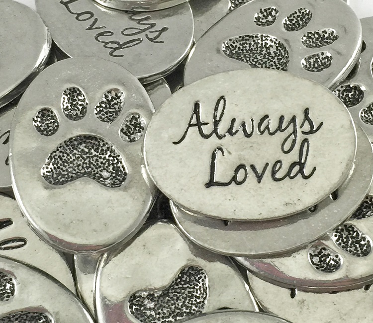 Paw Print - Always Loved Inspiration Coin