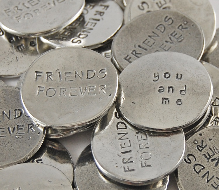 You and Me - Friends Forever Sentiment Token