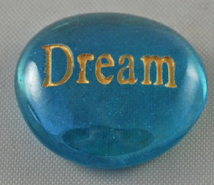 Dream - Engraved Glass Spirit Stones