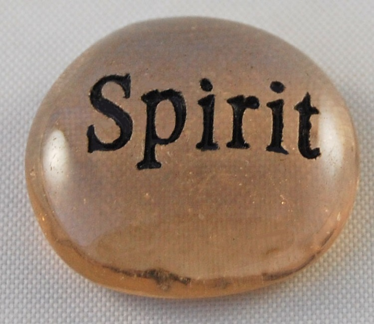 Spirit - Engraved Glass Spirit Stones