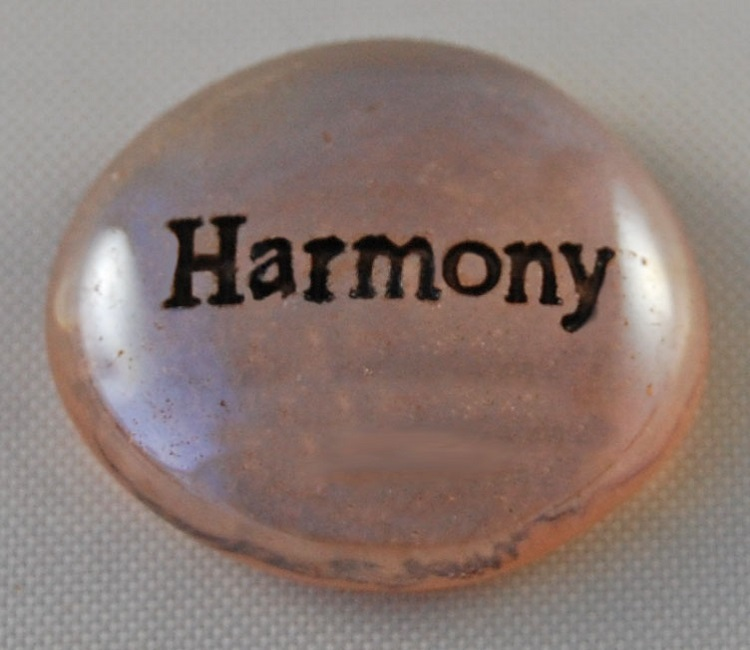 Harmony - Engraved Glass Spirit Stones