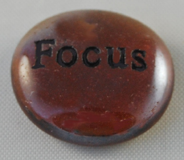 Focus - Engraved Glass Spirit Stones
