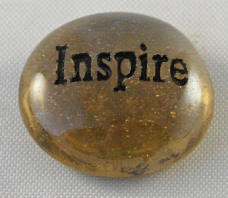 Inspire - Engraved Glass Spirit Stones