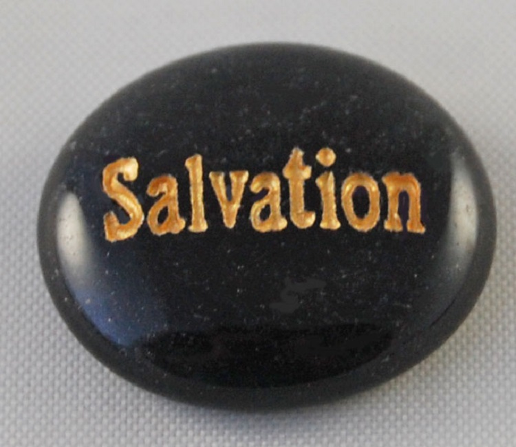 Salvation - Engraved Glass Spirit Stones