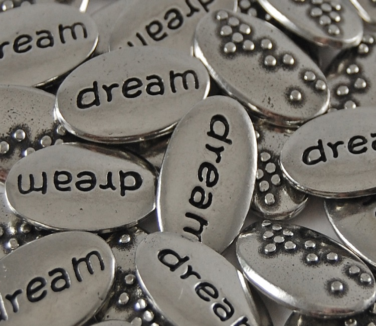 Dream Braille Word Pebble