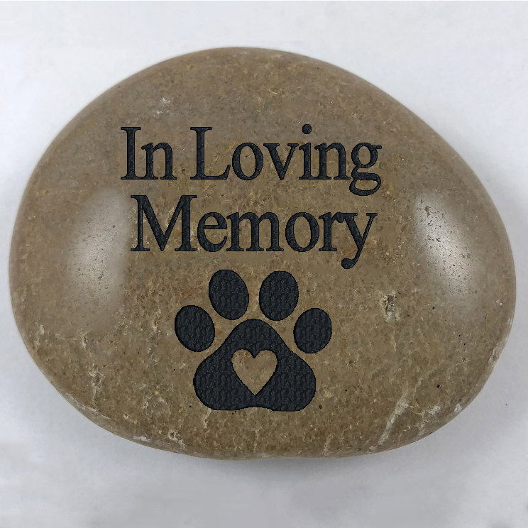 In Loving Memory - Pawprint (Graphic)